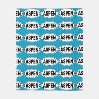 Aspen Colorado Fleece Blanket