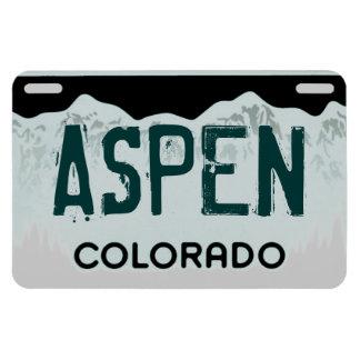 Aspen Colorado green license plate magnet