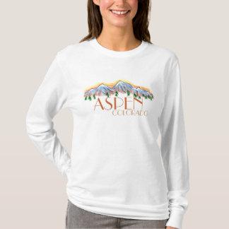 Aspen Colorado ladies scenic mountain hoodie