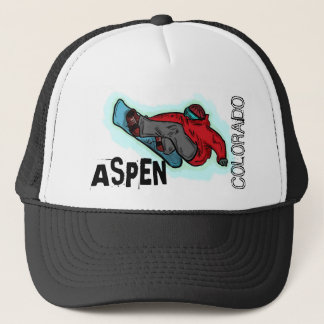 Aspen Colorado snowboarder shred hat