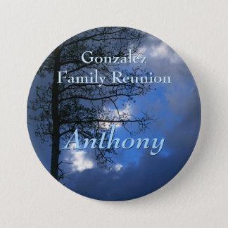 Aspen Family Reunion Name Badge 3 Inch Round Button