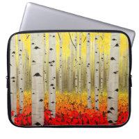 Aspen Grove in Fall Laptop Sleeve