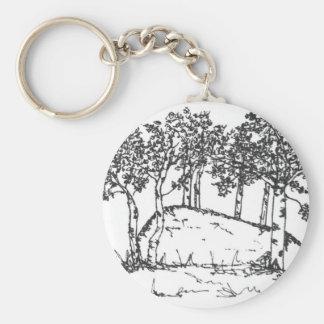 Aspen Grove Keychain