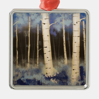 Aspen Grove Metal Ornament