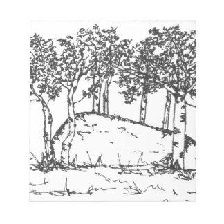 Aspen Grove Notepad