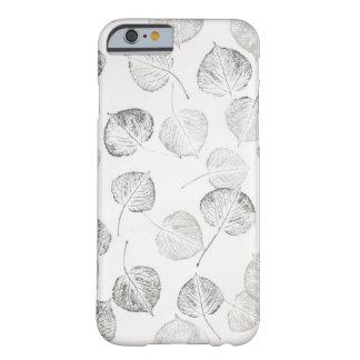 Aspen laisse noir et blanc coque iPhone 6 barely there