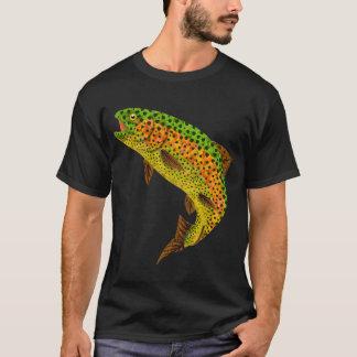 Aspen Leaf Rainbow Trout 1 T-Shirt