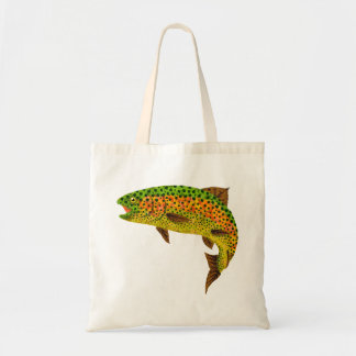 Aspen Leaf Rainbow Trout 1 Tote Bag
