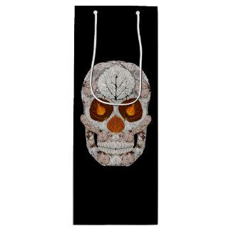 Aspen Leaf Skull 11 Wine Gift Bag