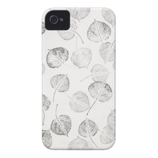 Aspen Pattern in Black and White iPhone 4 Case