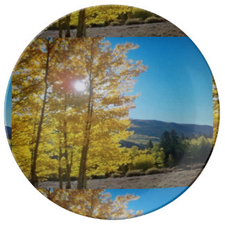 Aspen Sunrise Plate