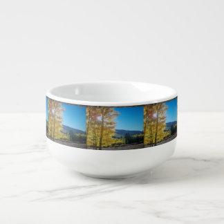Aspen Sunrise Soup Mug