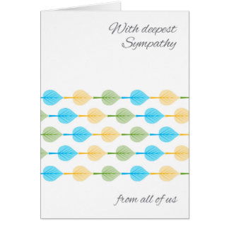 Aspen Sympathy from Group Business or Personal Greeting Card