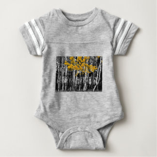 Aspen Touch of Orange Baby Bodysuit
