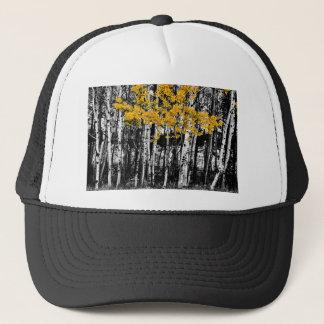 Aspen Touch of Orange Trucker Hat