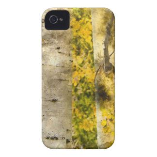 Aspen Trees in Autumn iPhone 4 Cover
