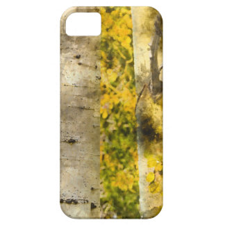 Aspen Trees in Autumn iPhone 5 Covers