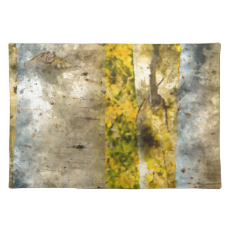 Aspen Trees in Autumn Placemat