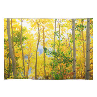 Aspen Trees In Fall | Sierra Nevada Mountains, CA Placemat