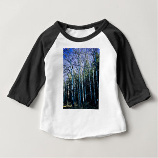 Aspen trees in the fall baby T-Shirt