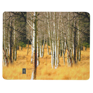 aspen trees pocket journal