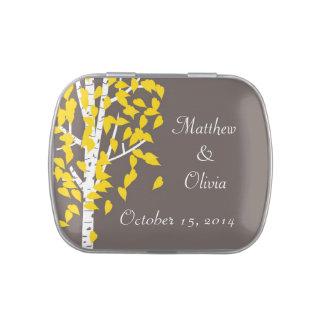 Aspen Trees Wedding Favor Mint Candy Tins