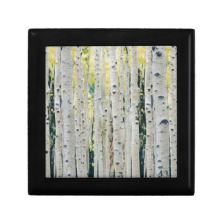 Aspens Forest - Painted Gift Box