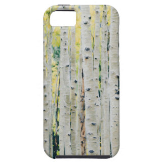 Aspens Forest - Painted iPhone 5 Case