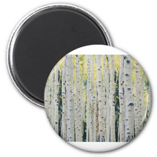 Aspens Forest - Painted Magnet