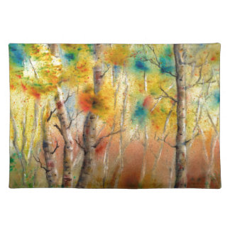 Aspens in Fall Placemat