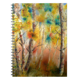 Aspens in Fall Spiral Notebook