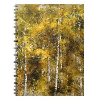 Aspens in the Fall Note Books