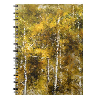 Aspens in the Fall Notebooks