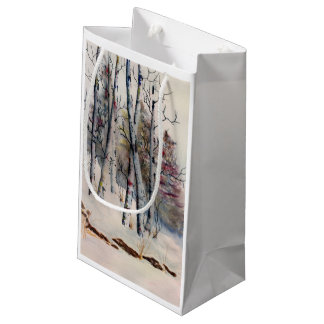 Aspens in Winter Gift Bag