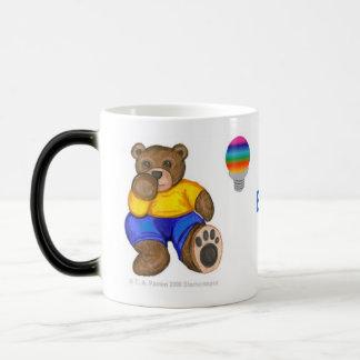 Aspergers Bear Magic Mug