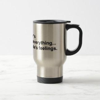 Asperger's gear travel mug