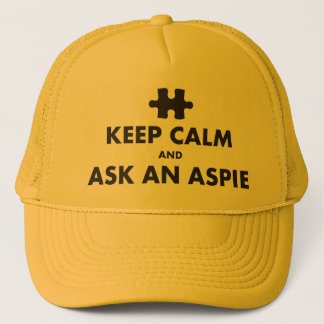 aspergers syndrome keep calm ask an Aspie Cap