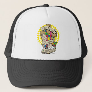 Asperger's Syndrome Praying Hands Trucker Hat