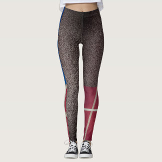 Asphalt Basketball Court Basketball Leggings