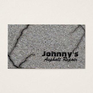 Asphalt Business Cards