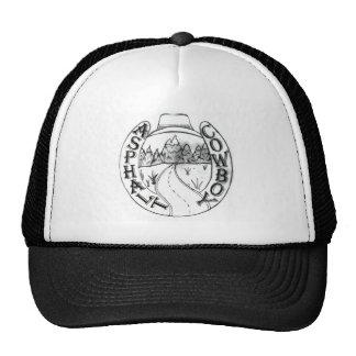 Asphalt Cowboy Basic Cap Trucker Hat