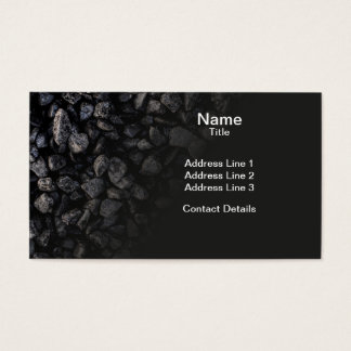 Asphalt Gravel Business Card
