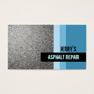 Asphalt Repair Business Cards