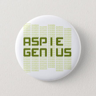 Aspie Genius - Computers 2 Inch Round Button