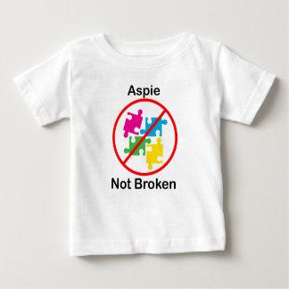 Aspie, Not Broken Tee Shirt