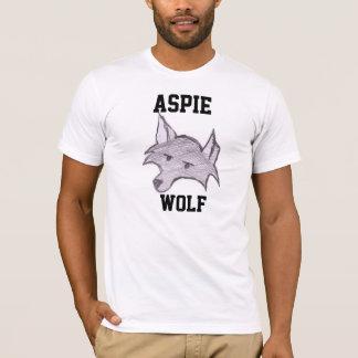 """Aspie Wolf """"Wolfie"""" T-Shirt"""