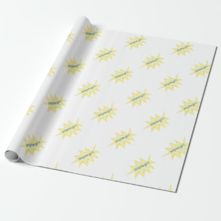 Aspiegirl Woman with Aspergers Wrapping Paper