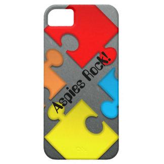 """Aspies rock"" iphone case"