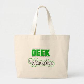 Aspirant de geek sac en toile