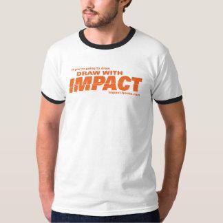 Aspiration avec la T-shirt-lumière des hommes T Shirts